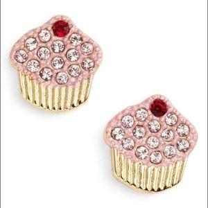 kate spade 'thing we love - cupcake' stud earrings